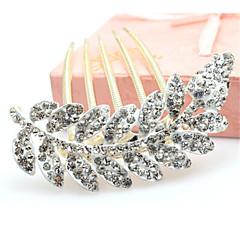Korean Style Flower Alloy Hot Sale Hair Comb(5 color)(1Pc)