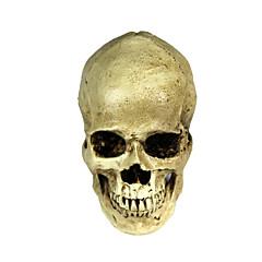 halloween 2-in-1 emulational pryskyřice lebka dekorace