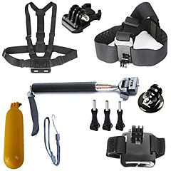 Gopro Accessories Gopro Case/Bags / Screw / Suction Cup / Straps / Hand Grips/Finger Grooves / Mount/Holder / Accessory KitFor-Action