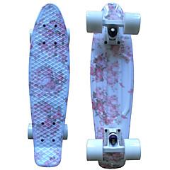 22 polegadas Cruisers skate Skates padrão PP (Polipropileno) Abec-9 Flor