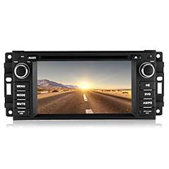 """6,2 """"1 din auto DVD přehrávač pro 2007 až 2010 jeep / velitele / Wrangler s bluetooth, GPS, iPod, CANbus"""
