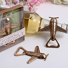"""Let The Adventure Begin Airplane"" Bottle Opener"