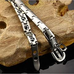 Titanium rigid health care magnetic health bracelet 16