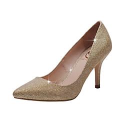 Bruiloft Schoenen - Rood / Zilver / Goud - Huwelijk / Formeel / Feesten & Uitgaan - Hoge hakken / Gepunte neus / Dichte neus - hoge hakken