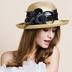 Women's Polyester Headpiece-Wedding Special Occasion Outdoor Hats 1 Piece