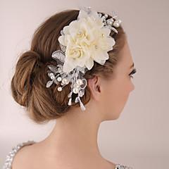 Bride Women's Lace Headwear Headpiece Headdress Wedding Flowers 1 Piece