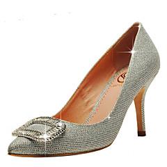 Scarpe da sposa - Scarpe col tacco - Tacchi / A punta / Chiusa - Matrimonio / Formale / Serata e festa - Rosso / Argento / Dorato -Da