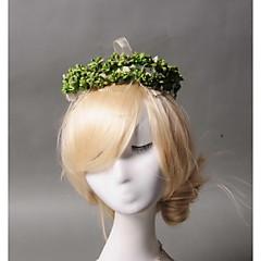 Femme / Jeune bouquetière Strass / Tulle / Imitation de perle Casque-Mariage / Occasion spéciale / Décontracté Couronnes 1 Pièce