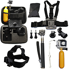 Accessories For GoPro,Telescopic Pole Chest Harness Front Mounting Case/Bags Straps Mount/Holder Waterproof Floating, For-Action Camera,