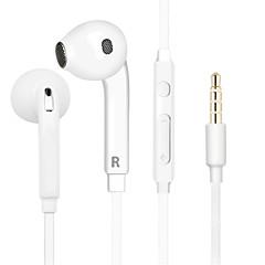 100% original hifi øretelefoner hodetelefoner støyisolering bass stereo headset sport mote øretelefonkontrollen mic for samsung s7