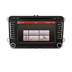 7 אינץ 2din נגן DVD לרכב עבור פולקסווגן עם GPS, CANbus, RDS, BT, מסלול חניה, iPod, מסך המגע