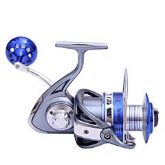 גלילי דיג סלילי טווייה 4.7:1 9 מיסבים כדוריים ניתן להחלפהדיג בים / Spinning / דיג ג'יג / דייג במים מתוקים / דיג בס / דיג כללי / חכות