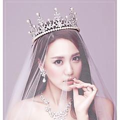 Dame Rhinestone / Imitert Perle Headpiece-Bryllup / Spesiell Leilighet Diademer 1 Deler