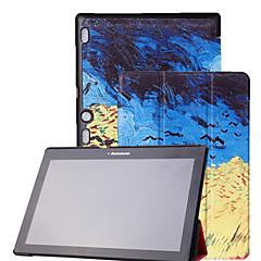 """félénk medve ™ bőr borítású állványt esetben Lenovo fül 2 a10 a10-70 10.1 """"tablet"""