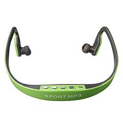 プレイヤーサムスンiphone用のSD TFスロットのファッションステレオヘッドセットスポーツヘッドフォンイヤホンMP3音楽プレーヤーのマイクロ