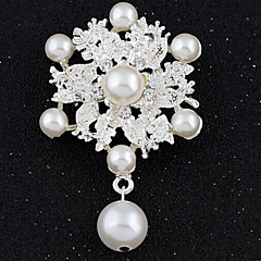 Simulated Diamond Fashion White Jewelry Party Special Occasion