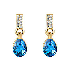 Drop Earrings Women's Alloy Earring Sapphire