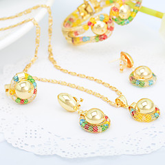 WesternRain Wedding jewelry Women's Alloy Jewelry Set Non Stone