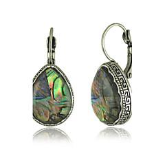 Bohemia Features Natural Shell Earrings Color Earrings
