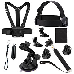 Gopro Accessories Monopod / Tripod / Screw / Buoy / Suction Cup / Straps / Mount/Holder / Accessory Kit All in One / Convenient, For-