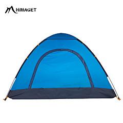HIMAGET 3-4 persons Tent Triple One Room Camping Tent 1500-2000 mm Fiberglass Oxford Polyester TaffetaMoistureproof/Moisture Permeability