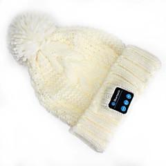 warme Mütze Hut Wireless Bluetooth Headset Musik Kappen Kopfhörer mit Lautsprecher mic für iphone sumsung Handy