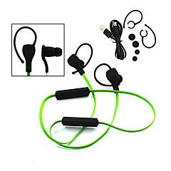 sport stereo støyfjerning med-mic i øret kanalen trådløs bluetooth headset hodetelefon for iphone samsung lg htc sony