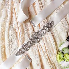 Satijn Huwelijk / Feest/Uitgaan / Dagelijks gebruik Sjerp-Pailletten / Sierstenen / Kristal / Strass Dames 98 ½ In (250Cm)Pailletten /