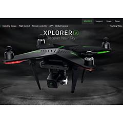 Drone Zero Xplorer V 4CH 3 Eixos 5.8G Com Câmera HD de 1080P Quadcóptero RCFPV / Retorno Com 1 Botão / Auto-Decolagem / Upside-Down Vôo /