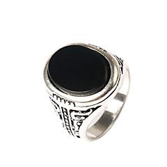 Ringen Heren Geen Steen Licht Metaal Licht Metaal 8 / 8½ / 9 / 9½ Goud / Zwart / Zilver