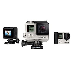 Gopro HERO 4 SILVER Sports Action Camera 12MP WiFi / LED / Waterproof / Bluetooth / wireless 120fps / 60fps 1.5 CMOS 64 GB Time-lapse 40 M
