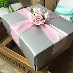 비 개인화 - 웨딩 - 클래식 테마 - 기프트 박스 ( 라벤더 / 그린 / 핑크 / 블루 , 카드 종이 )