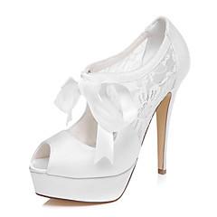 Γάμος Παπούτσια - Γυναικεία - Με Τακούνι - Πέδιλα - Γάμος / Φόρεμα / Πάρτι & Βραδινή Έξοδος - Άσπρο