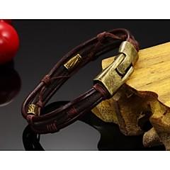 Bronze alloy buckle bracelet