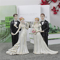 The Bride And Groom Cake Topper(Medium Size)