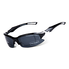Sunglasses Men's Sports Anti-Fog Oval Black Sports / Cycling Half-Rim