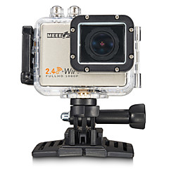 měěě GOU MEE+5 Akční kamera / Sportovní kamera 16 MP 4000 x 3000 / 3264 x 2448 / 2304 x 1728 WIFI / 4K / Voděodolné / Širokoúhlý 60fps Ne