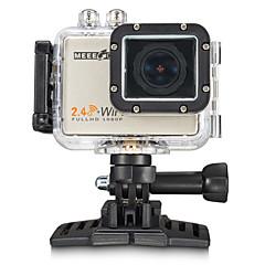 MEEE GOU MEE+5 Sportcamera 2 16MP 4000 x 3000 / 3264 x 2448 / 2304 x 1728 60fps Neen ± 2EV CMOS 32 GB Mpeg-4 / H.264Duits / Italiaans /