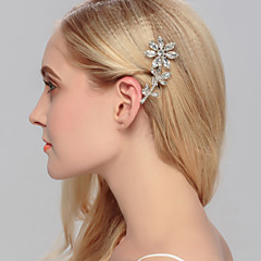 Women's Rhinestone / Brass Headpiece-Wedding / Special Occasion / Casual / Office & Career / Outdoor Hair Clip 1 Piece