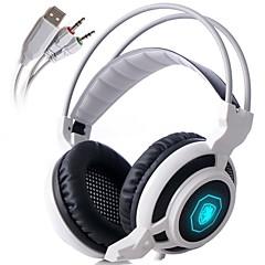 Sades arcmage 3,5-mm-PC-Gaming über Ohr Kopfhörer Stereo-Gaming-Kopfhörer mit Mikrofon& Lautstärkeregelung