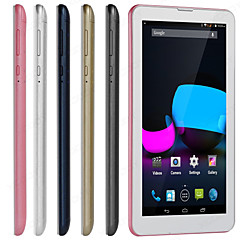 THTF M706 7'' Android 4.4 Tablet PC Dual Core 4GB Camera GPS 3G Dual Sim Smartphone(Dual Core 1024*600 512MB + 4GB)