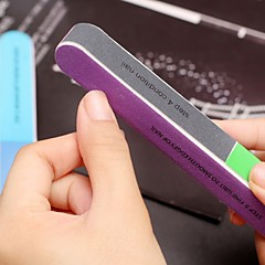 1stk 7-vejs multi-farve nail art polering blok slibning filer / fjern kamme / glat søm / glans negle (farve tilfældig)