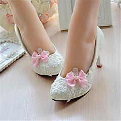 Dámské-Svatební obuv-Podpatky-Lodičky-Svatba-Bílá