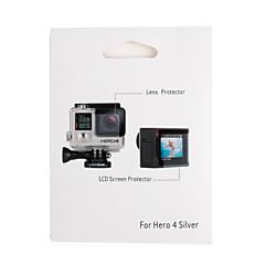 Acessórios para GoPro Protectores de Tela / Acessório Kit Touchscreen, Para-Câmara de Acção,Gopro Hero 3+ / GoPro Hero 4Escalada / Auto /