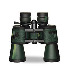 BRESEE 50X50 mm Binoculars Waterproof High Definition Night Vision Zoom General use Fully Coated Normal 78M/1000M Independent Focus