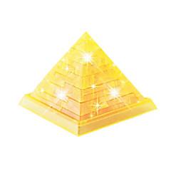 Puzzle 3D puzzle Křišťálové puzzle Stavební bloky DIY hračky Slavné stavby