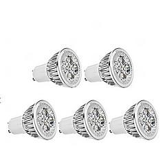 5W GU10 LED Spot Lampen MR16 1 350-400 lm Warmes Weiß Dimmbar AC 220-240 V 5 Stück