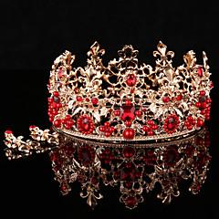 Bride's Flower Shape Wedding Hair Accessories Headbands Tiaras Crown 1 Set (1 crown + 1 pair erring)
