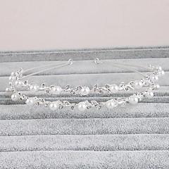 Women's Rhinestone Headpiece-Wedding Special Occasion Casual Office & Career Outdoor Headbands 1 Piece