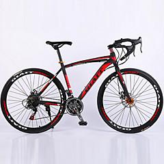 Rennräder Radsport 21 Geschwindigkeit 26 Zoll/700CC Unisex / Herren / Damen SHIMANO TZ-30 BB8 Doppelte Scheibenbremsen Federgabel